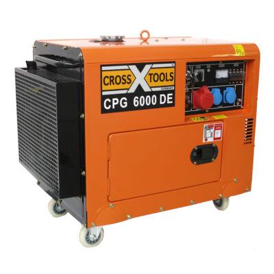 CPG 6000 DE diesel áramfejlesztő akkuval