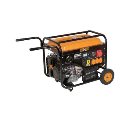 CPG 5500 E benzines áramfejlesztő akkuval